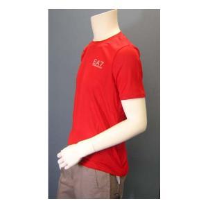 No.5 Tシャツ メンズ レッド エンポリオアルマーニ EA7