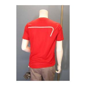 No.6 Tシャツ メンズ レッド エンポリオアルマーニ EA7