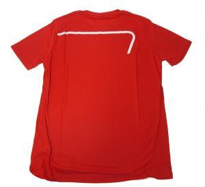 No.7 Tシャツ メンズ レッド エンポリオアルマーニ EA7