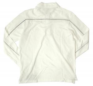 No.2 長袖 ポロシャツ ホワイト ゴルフ Mサイズ エンポリオアルマーニ EA7