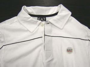 アルマーニ <訳ありお値引> EA7 ゴルフ ポロシャツ 長袖 XLサイズ