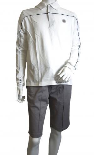 アルマーニ <訳ありお値引> EA7 ゴルフ ポロシャツ 長袖 Mサイズ