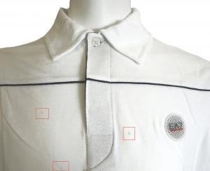 No.3 <訳ありお値引> EA7 ゴルフ ポロシャツ 長袖 Mサイズ