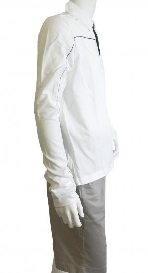No.4 <訳ありお値引> EA7 ゴルフ ポロシャツ 長袖 Mサイズ