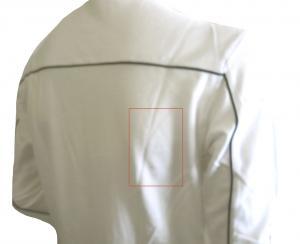 No.8 <訳ありお値引> EA7 ゴルフ ポロシャツ 長袖 Mサイズ