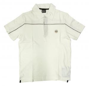エンポリオアルマーニ ポロシャツ ホワイト ゴルフ メンズ Mサイズ  EA7