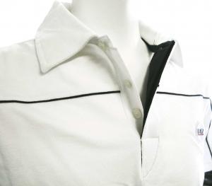 No.4 ポロシャツ ホワイト ゴルフ メンズ Mサイズ エンポリオアルマーニ EA7
