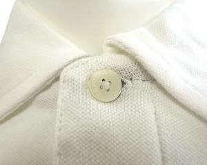 No.5 ポロシャツ ホワイト ゴルフ メンズ Mサイズ エンポリオアルマーニ EA7