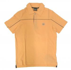 エンポリオアルマーニ ポロシャツ サーモンピンク ゴルフ メンズ  EA7