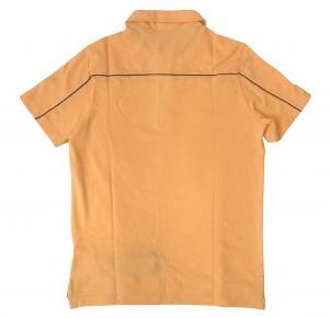 No.2 ポロシャツ サーモンピンク ゴルフ メンズ エンポリオアルマーニ EA7