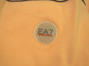 No.3 ポロシャツ サーモンピンク ゴルフ メンズ エンポリオアルマーニ EA7