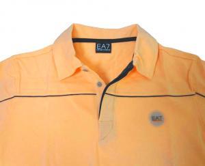 No.4 ポロシャツ サーモンピンク ゴルフ メンズ エンポリオアルマーニ EA7