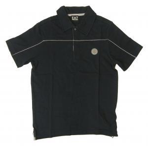 エンポリオアルマーニ ポロシャツ 濃紺  ゴルフ メンズ  EA7