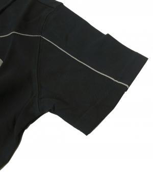 No.3 ポロシャツ 濃紺  ゴルフ メンズ エンポリオアルマーニ EA7