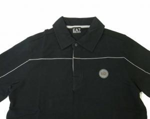 No.5 ポロシャツ 濃紺  ゴルフ メンズ エンポリオアルマーニ EA7