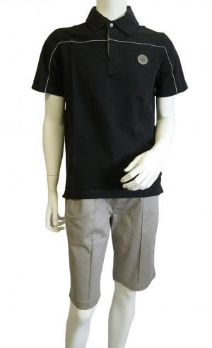 No.7 ポロシャツ 濃紺  ゴルフ メンズ エンポリオアルマーニ EA7