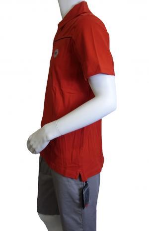 No.4 <訳ありお値引>ポロシャツ レッド ゴルフ メンズ エンポリオアルマーニ EA7