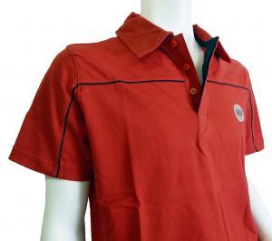 No.6 <訳ありお値引>ポロシャツ レッド ゴルフ メンズ エンポリオアルマーニ EA7