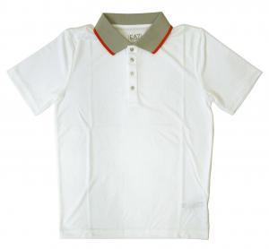 エンポリオアルマーニ ポロシャツ ゴルフ メンズ ホワイト  EA7