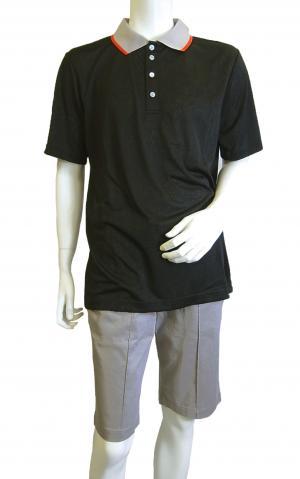 アルマーニ ポロシャツ ブラック ゴルフ メンズ XLサイズ エンポリオアルマーニ EA7 MainPhoto