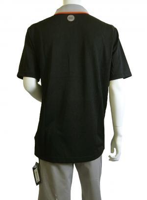 No.2 ポロシャツ ブラック ゴルフ メンズ XLサイズ エンポリオアルマーニ EA7