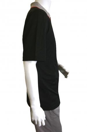 No.3 ポロシャツ ブラック ゴルフ メンズ XLサイズ エンポリオアルマーニ EA7