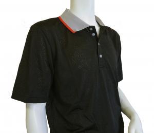 No.4 ポロシャツ ブラック ゴルフ メンズ XLサイズ エンポリオアルマーニ EA7