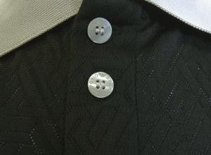 No.5 ポロシャツ ブラック ゴルフ メンズ XLサイズ エンポリオアルマーニ EA7