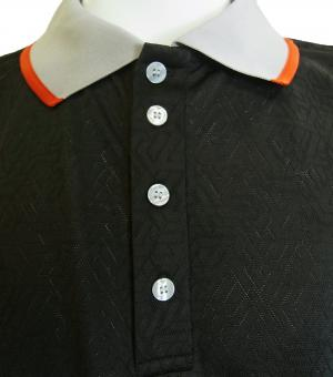No.6 ポロシャツ ブラック ゴルフ メンズ XLサイズ エンポリオアルマーニ EA7