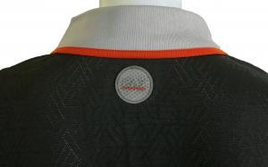 No.7 ポロシャツ ブラック ゴルフ メンズ XLサイズ エンポリオアルマーニ EA7