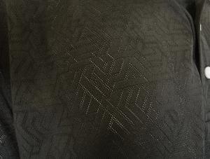 No.8 ポロシャツ ブラック ゴルフ メンズ XLサイズ エンポリオアルマーニ EA7