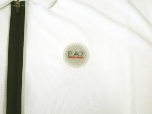 No.3 ポロシャツ 速乾素材 ゴルフ用 ホワイト EA7