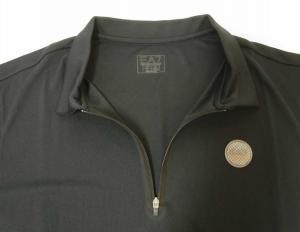 No.5 ポロシャツ 速乾素材 ゴルフ用 EA7 (ミッドナイト) XLサイズ