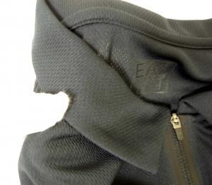 No.7 ポロシャツ 速乾素材 ゴルフ用 EA7 (ミッドナイト) XLサイズ