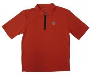 アルマーニ ポロシャツ 速乾素材 (レッド) Mサイズ ゴルフ用 EA7