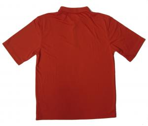 No.2 ポロシャツ 速乾素材 (レッド) Mサイズ ゴルフ用 EA7