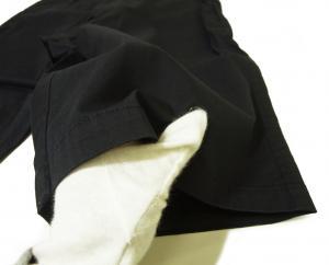 No.5 ゴルフ用 バミューダ パンツ 薄いブラック エンポリオアルマーニ EA7 Sサイズ