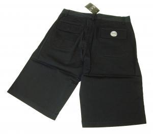 No.6 ゴルフ用 バミューダ パンツ 薄いブラック エンポリオアルマーニ EA7 Sサイズ