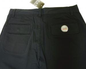 No.7 ゴルフ用 バミューダ パンツ 薄いブラック エンポリオアルマーニ EA7 Sサイズ