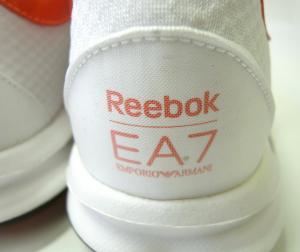 No.5 スニーカー メンズ ホワイト EA7×リーボック エンポリオアルマーニ