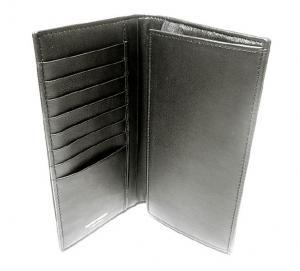 No.4 エンポリオアルマーニ 二つ折長財布(ブラック/ブラック)