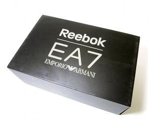 No.7 メンズ スニーカー エンポリオアルマーニ EA7×リーボック 43(日本サイズ約28.0cm
