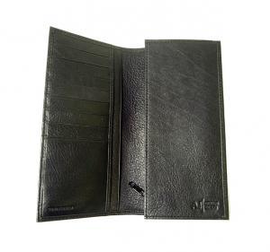 No.4 ジーンズ メンズ 長財布(ブラック)