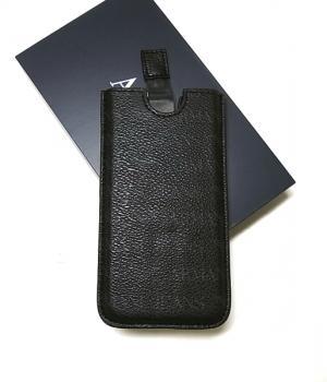 アルマーニジーンズ  iPhone アイフォンケース(ブラック)