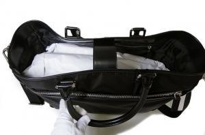 No.8 バッグ メンズ トラベル ナイロン ブラック ジョルジオアルマーニ