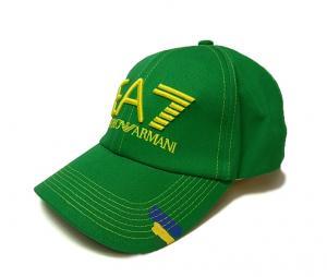 アルマーニ EA7 帽子 メンズ サッカーワールドカップベースボールキャップ(ブラジル) MainPhoto