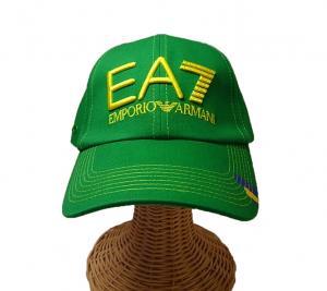 No.2 EA7 帽子 メンズ サッカーワールドカップベースボールキャップ(ブラジル)