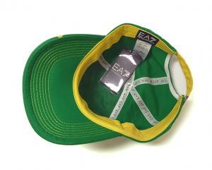 No.6 EA7 帽子 メンズ サッカーワールドカップベースボールキャップ(ブラジル)