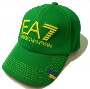 No.7 EA7 帽子 メンズ サッカーワールドカップベースボールキャップ(ブラジル)