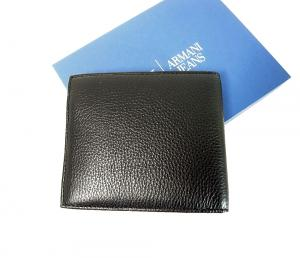 No.2 ジーンズ メンズ 財布 二つ折(ブラック)